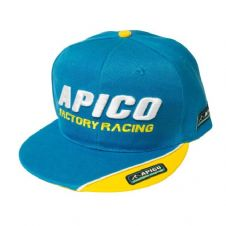 APICO FACTORY RACING SNAPBACK CAP BLUE